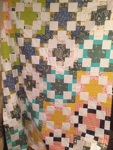 Timber quilt