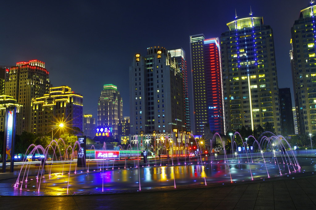 台中市區夜拍,測鏡頭