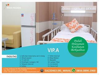 gambar ruang VIP A RS Wava Husada