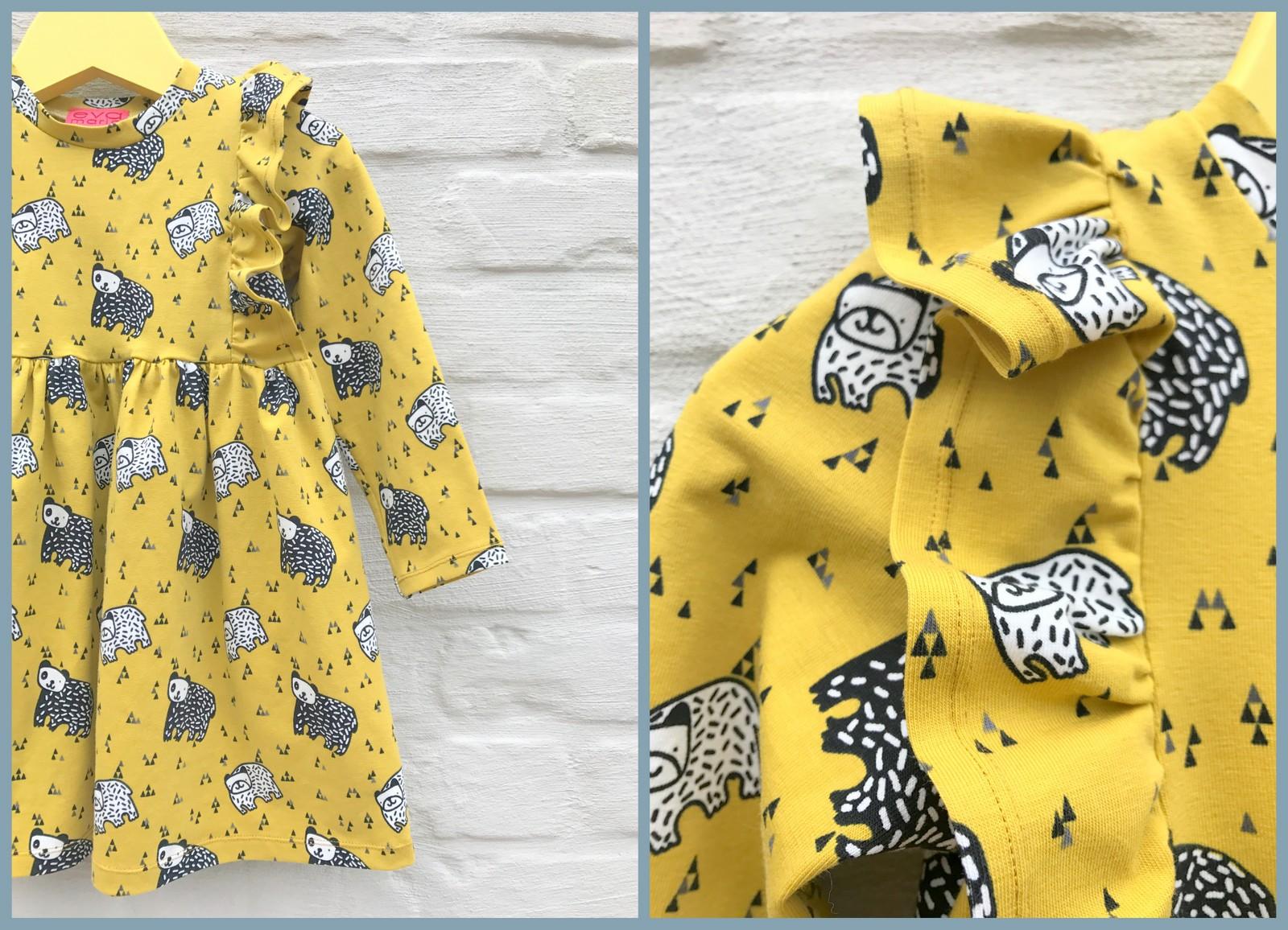 millie dress (collage)