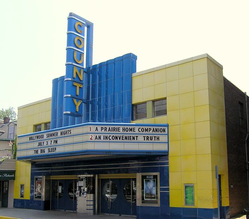 An old-fashioned movie theater that is still showing movies! | by Gail Frederick