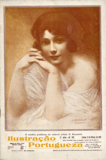 Ilustração Portugueza, nº472, March, 1915 - cover