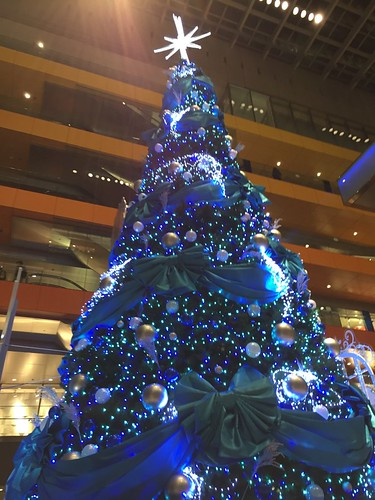 Christmas trees in Tokyo 2016