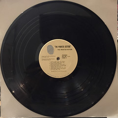 THE POINTER SISTERS:THE POINTER SISTERS(RECORD SIDE-B)