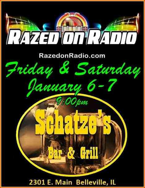 Razed On Radio 1-6, 1-7-17