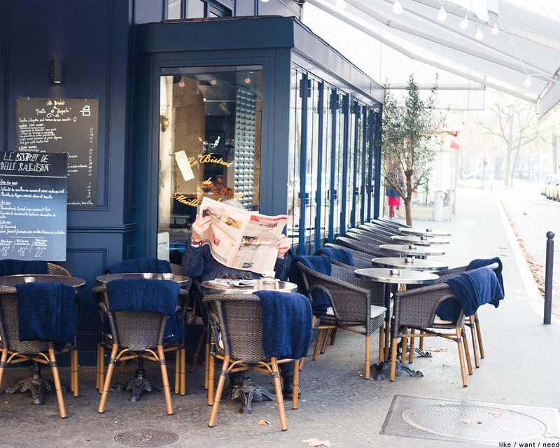 Café, Reading