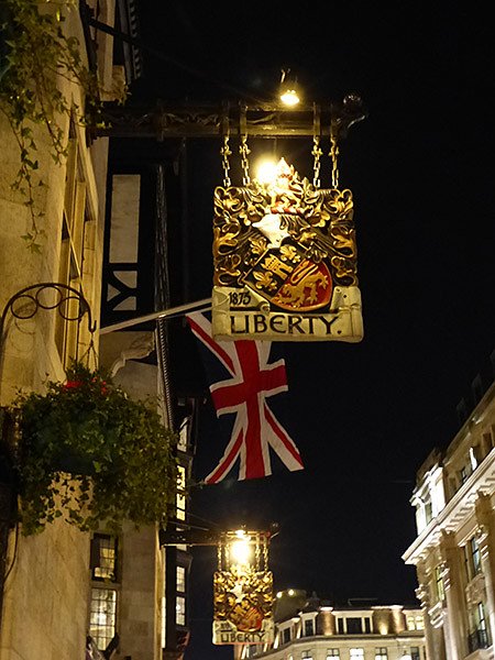 Liberty by night