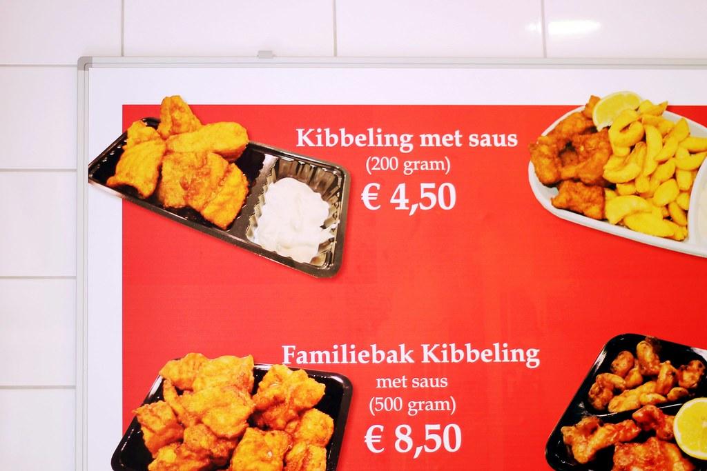 Drawing Dreaming - onde e o que comer em Amsterdão - Albert Cuyp Markt, kibbeling