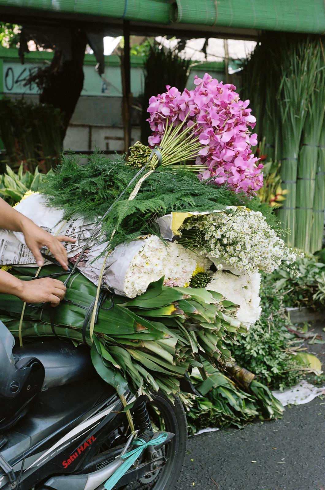 jakarta flower market