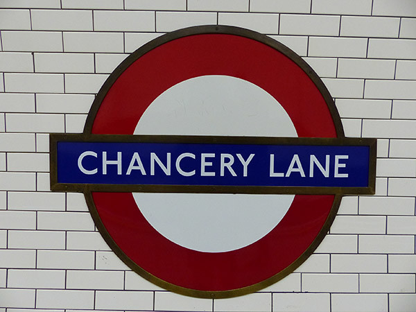 chancery lane tube