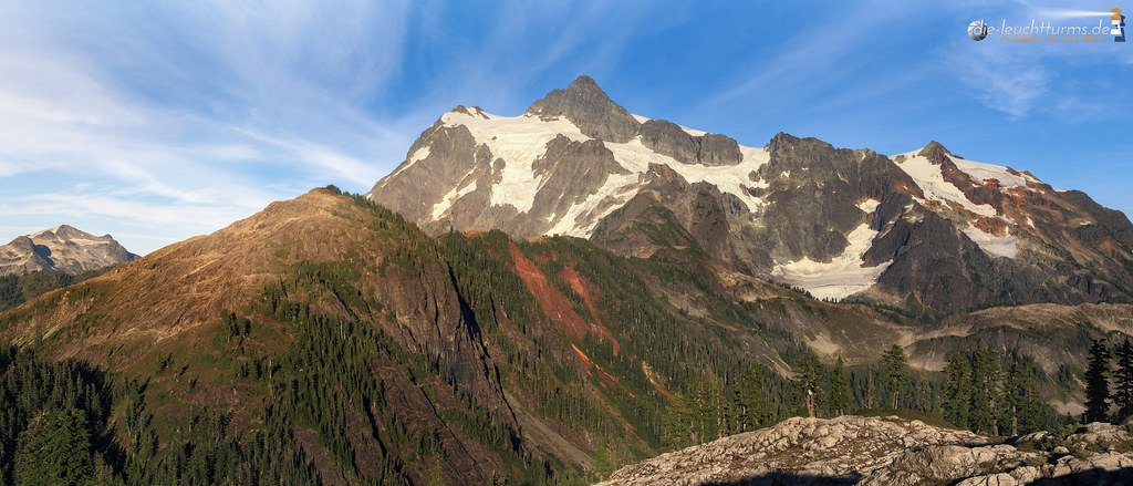 Mount Shuksan in evening light