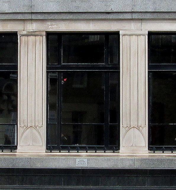 Detail, Former Bank, N West Circus Place, Edinburgh
