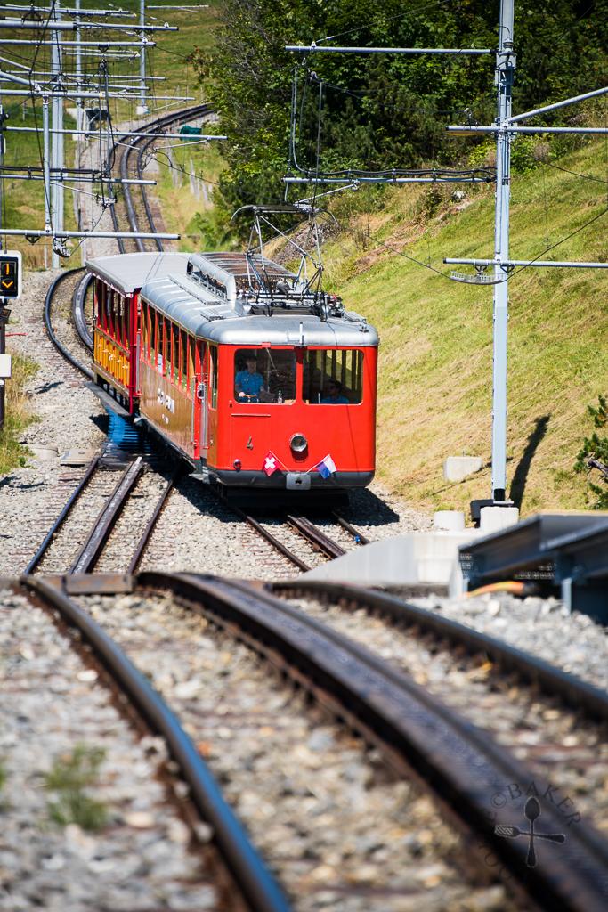 Approachig train