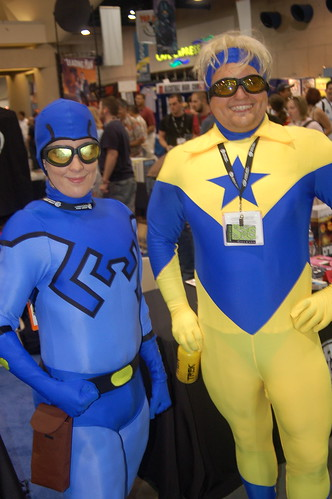 Comic Con 2006: Blue and Gold | by earthdog