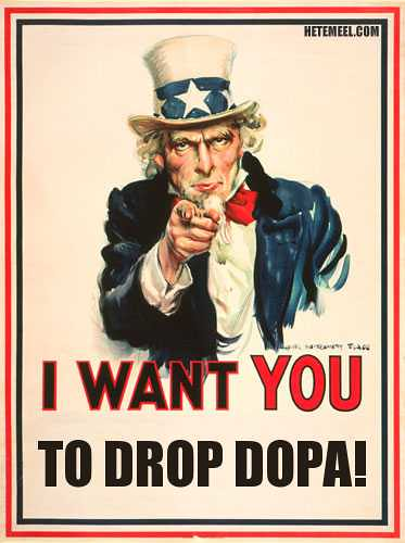 I Want you ... to Drop DOPA! | by David Lee King