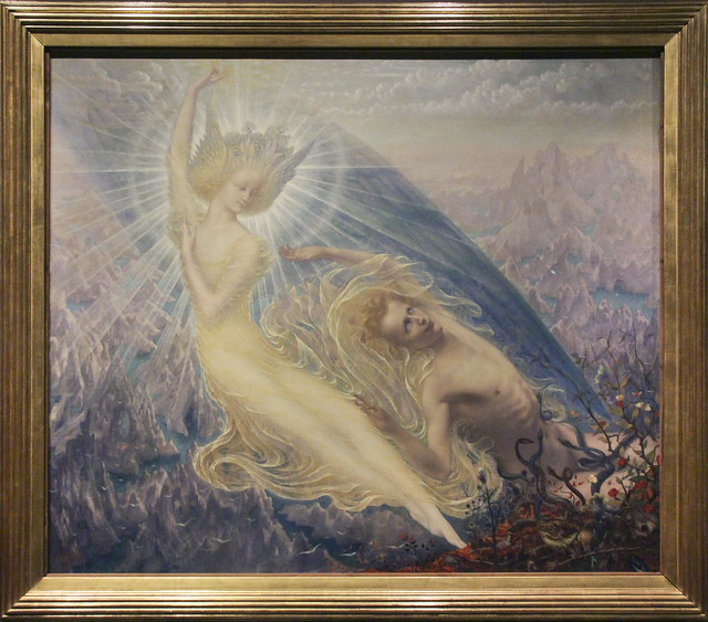 The Angel of Splendours, Jean Delville