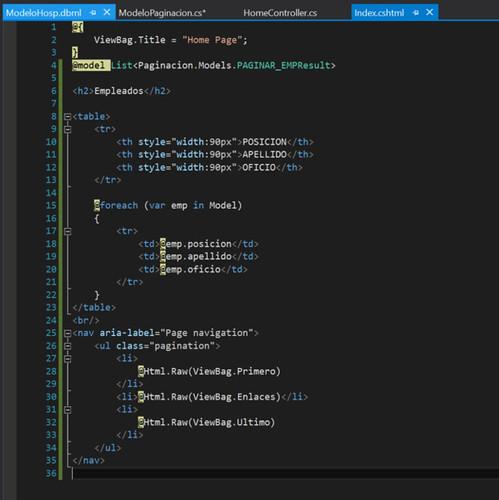 15.Paginación con ASP.NET en Visual Studio vista-paginacion