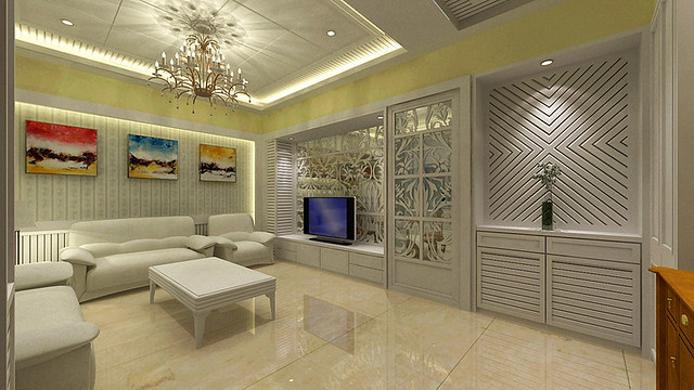 3D室內繪圖設計作品-紀公館