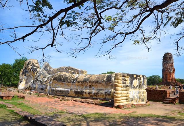 ayutthaya historical park WAT LOKAYA SUTHA