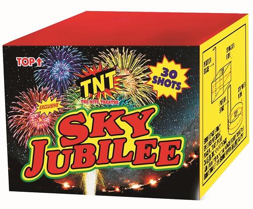 Sky Jubilee 30 Shot Cake by TNT Fireworks