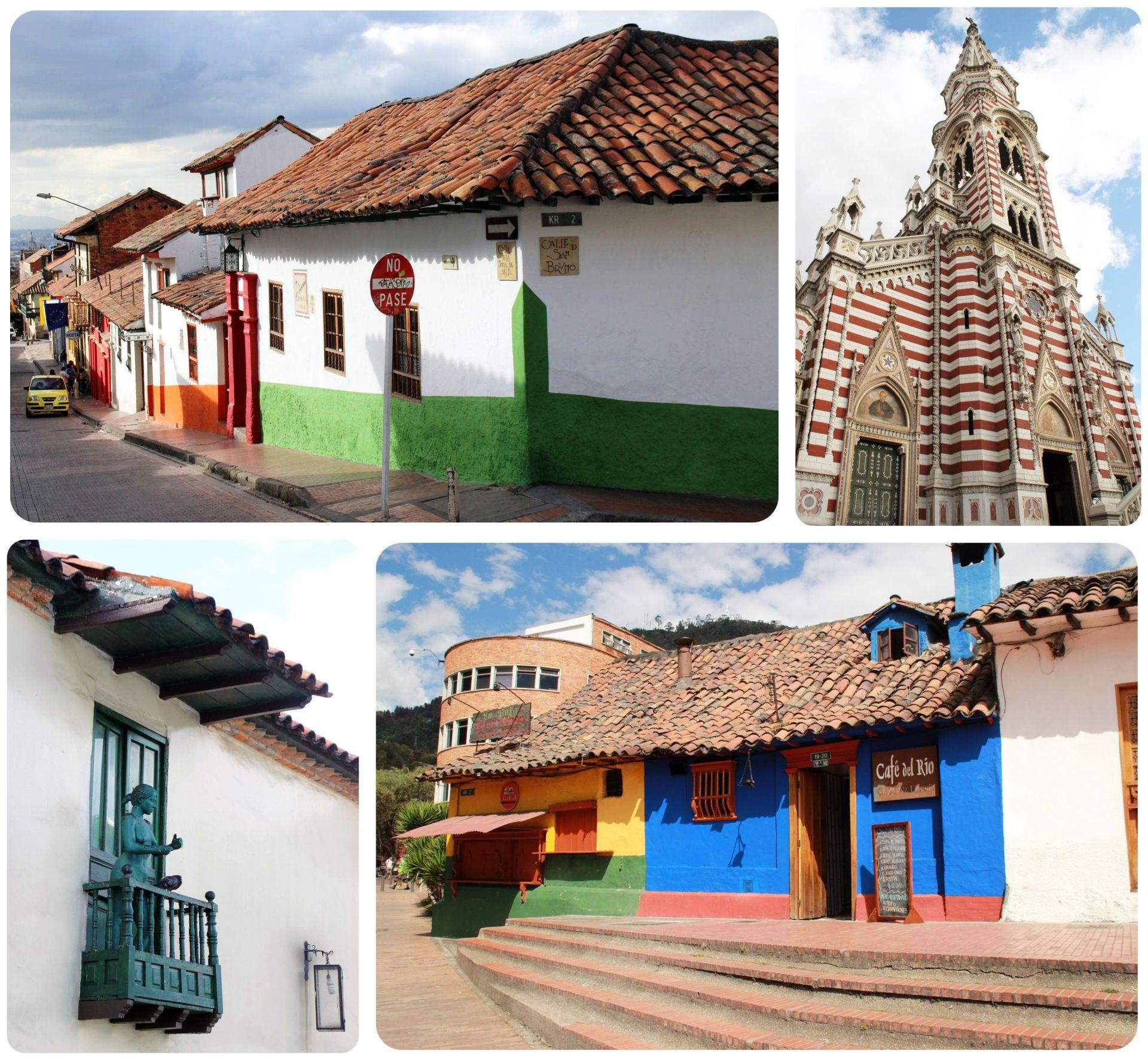 Bogota La Candelaria neighborhood