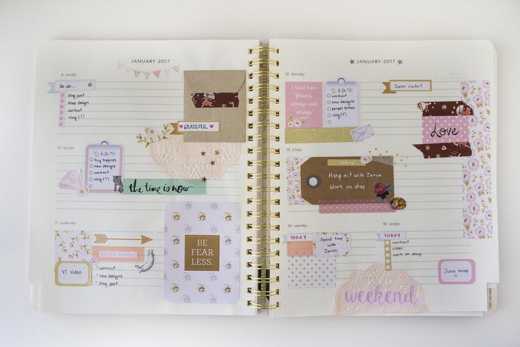 january planner