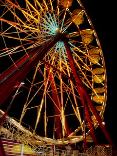 Ferris Wheel at Night | by Karen Ballou