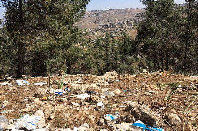 photo of trash in Jordan
