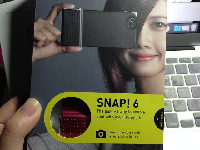 為了新買的iPhone6買了SNAP! 6