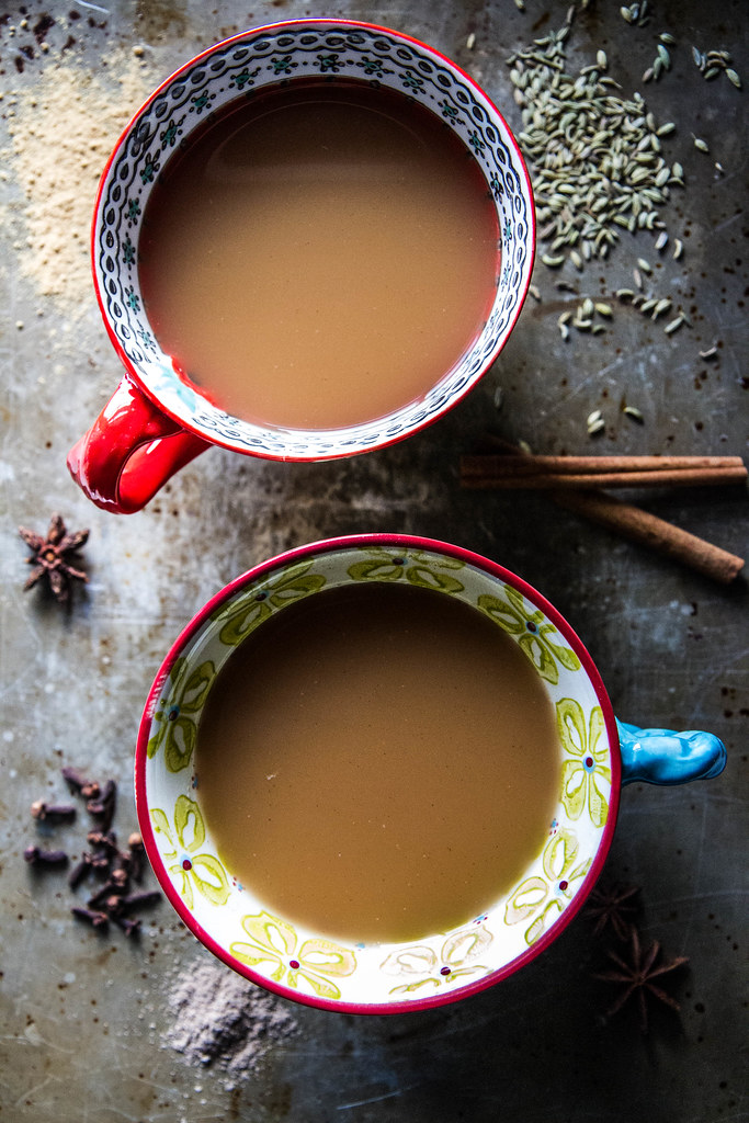 Homemade Coconut Chai Tea from HeatherChristo.com
