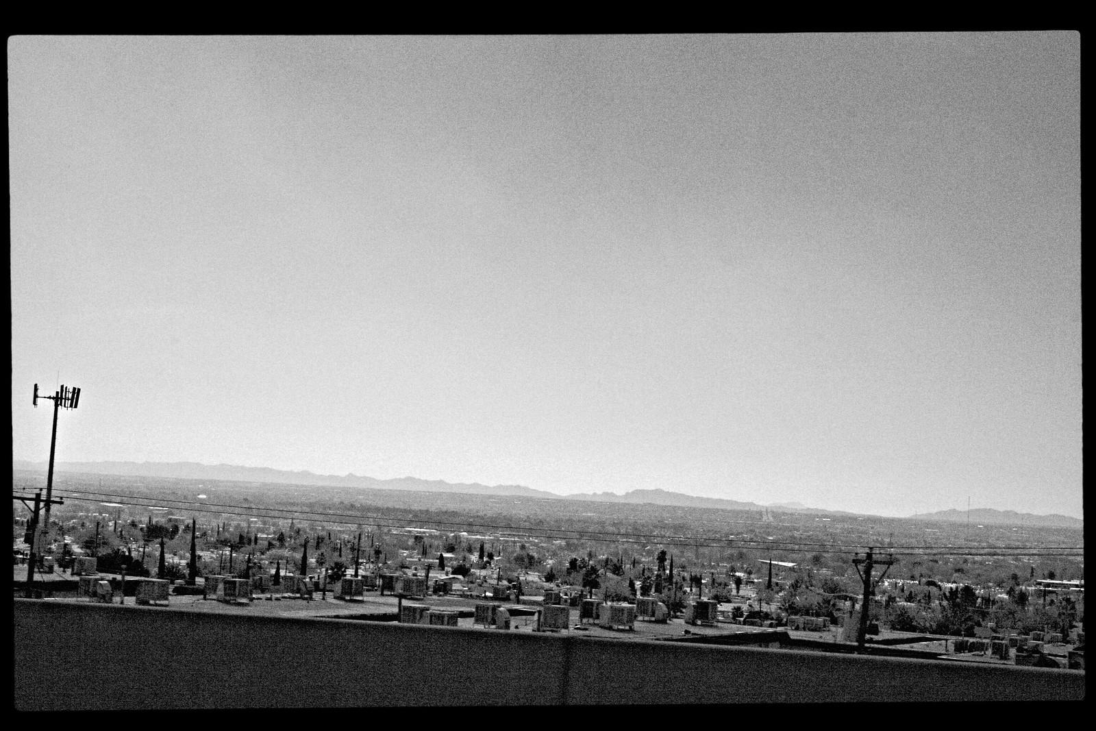 Rooftops of El Paso, Texas, Looking Toward Mexico, 2006