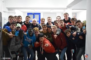 Sorpresa del cos tècnic als jugadors i familiars de l'AE Josep Maria Gené
