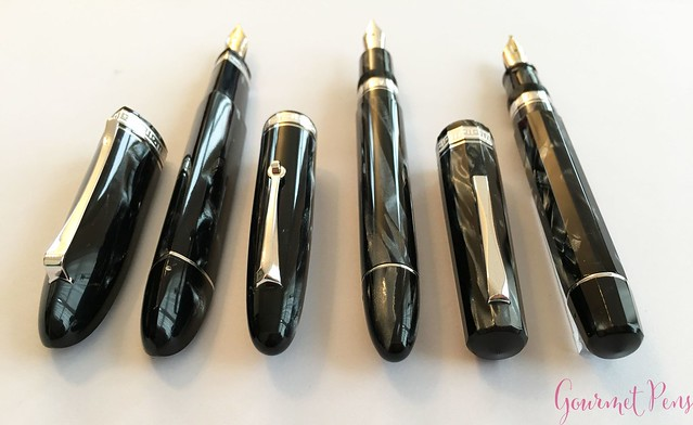 Review 90th Anniversary Omas Icons Celluloid Collection Set @PapierundStift 46