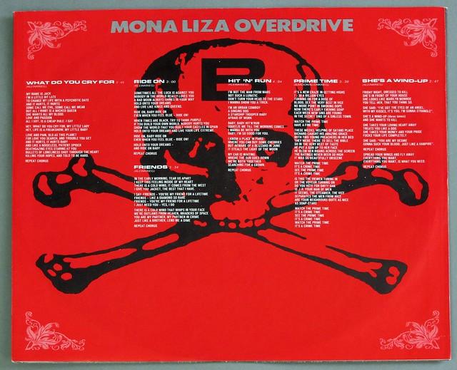 """MONA LIZA OVERDRIVE VIVE LA KA BUM 12"""" LP VINYL"""