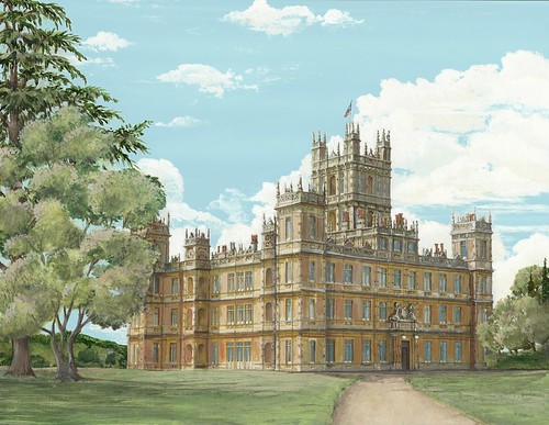 Highclere Painting by Chuck Fischer