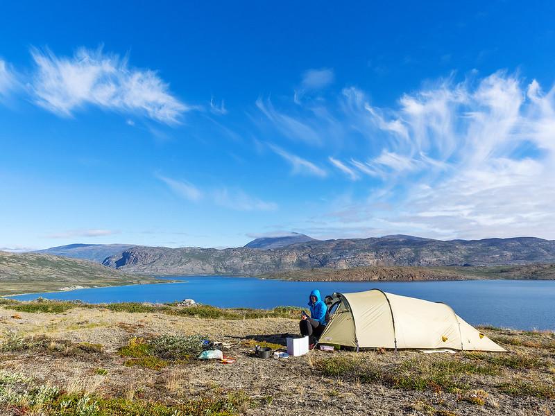 Aufwachen in Grönland