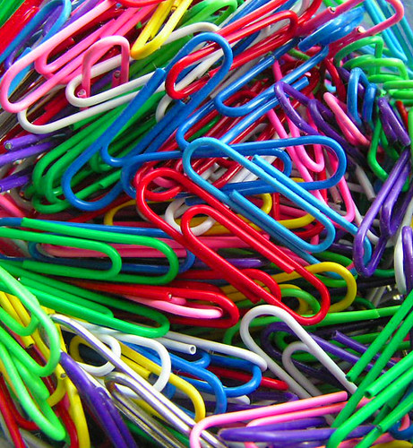 bright paperclips | by TooFarNorth
