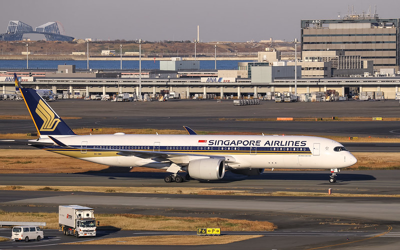 9V-SMC Singapore Airlines Airbus A350