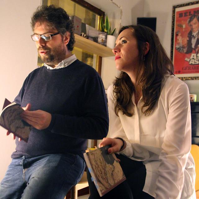 CAMINO DE IDA - VIOLETA SERRANO - BAR BELMONDO 16.12.16