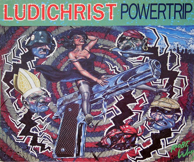 Ludichrist Powertrip cover Robert Williams