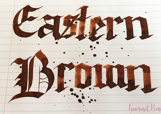 Ink Shot Review Bookbinders Eastern Brown @AndersonPens 5