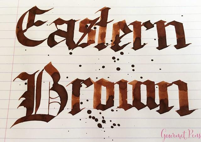 Ink Shot Review Bookbinders Eastern Brown @AndersonPens 5