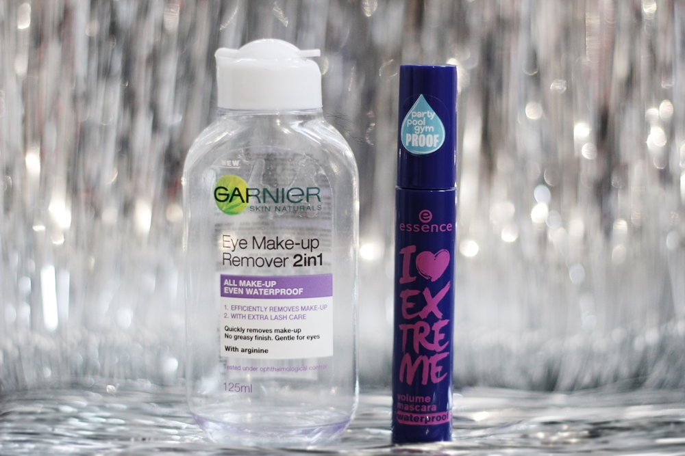 essence mascara garnier makeup remover