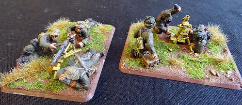 Bolt Action - German MMG & Mortar