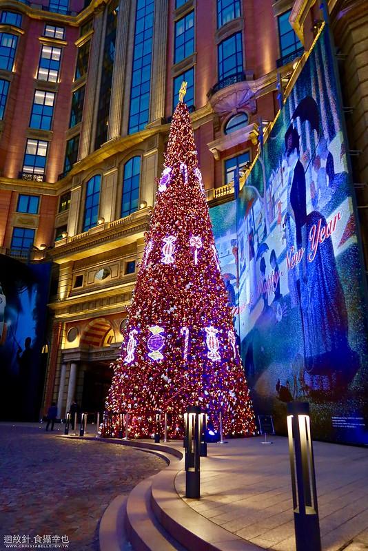 2016文華東方酒店聖誕樹