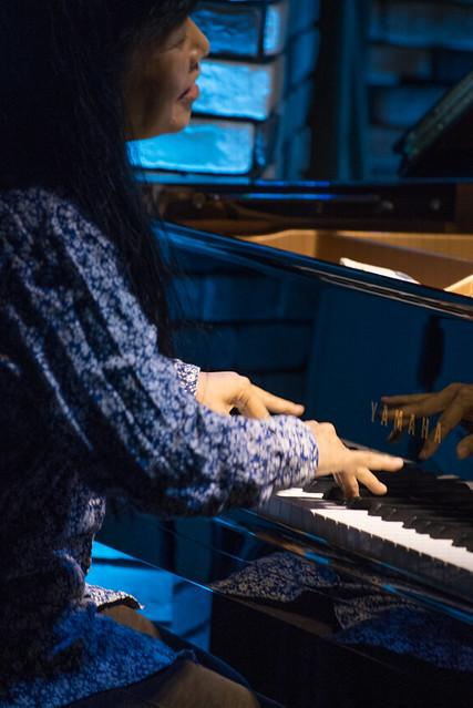 Satoko Fujii Quartet live at Cortez, Mito (Japan), 22 Dec 2016 -00234