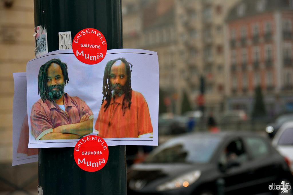 [09 Décembre 2016] – Un jour, une photo… Rassemblement de solidarité pour Mumia Abu-Jamal