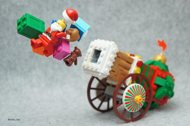 LEGO Canon à Père Noël
