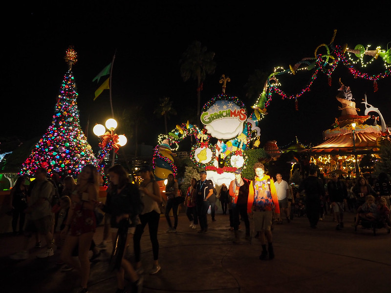 Seuss Landing at Universal Orlando at Christmas