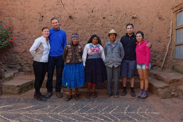 Z rodziną Ernesto